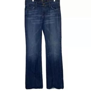 7 For All Mankind Bootcut Jeans Womens Medium Wash